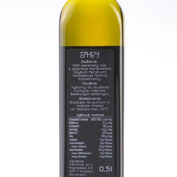fajný olej - pestrecový